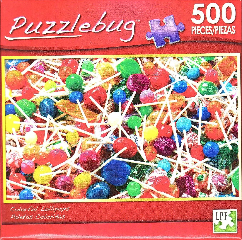Puzzlebug 500 - colorful Lollipops