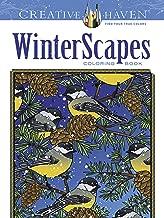 Creative Haven WinterScapes Coloring Book (Creative Haven Coloring Books)