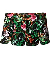 Ella Moss Girl - Helena Tulip Printed Shorts (Big Kids)