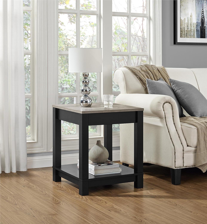 Ameriwood Home Carver End Table, Black