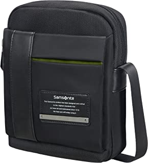 """Samsonite Openroad Tablet Crossover M 7.9"""" Borsa Messenger, 23 cm, Nero (Jet Black)"""