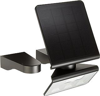 Steinel Solar wandlamp XSolar L-S antraciet, 140° bewegingsmelder, 8 m bereik, voor tuin, terras en huismuur