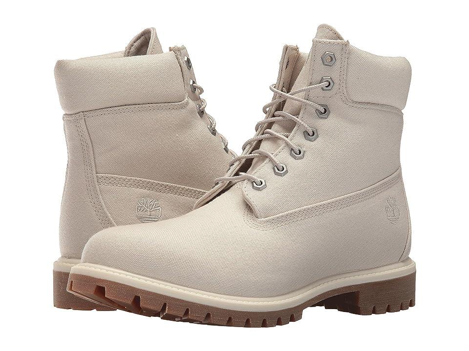 Timberland 6 Premium Fabric Boot (Pure Cashmere) Men
