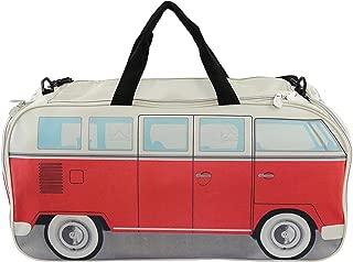 BRISA VW Collection VW T1 Bus Sport Bag - Red/Beige