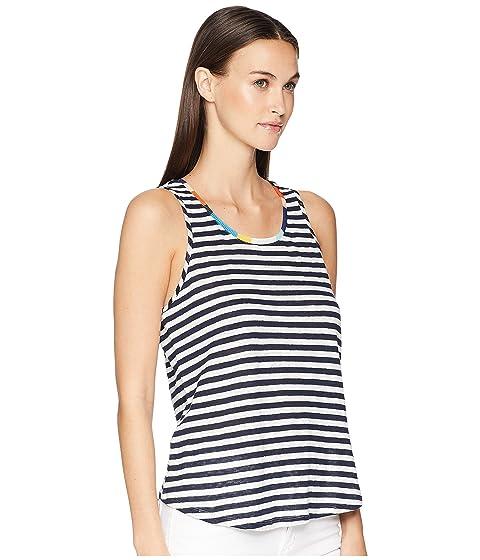azul mangas Ciao Missoni marino Margherita natural Bella camiseta Splendid sin X Splendid qwnFU