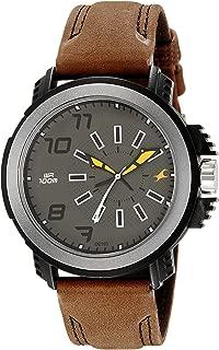 Fastrack Analog Grey Dial Men's Watch-NK38015PL03