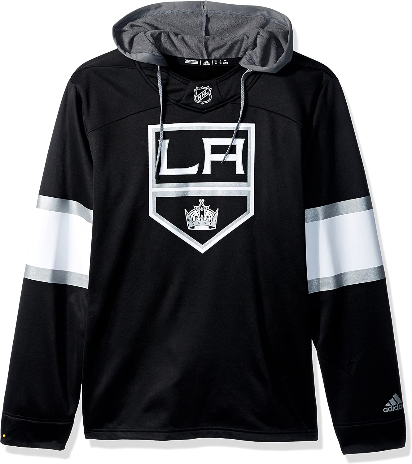 adidas Men's Super popular specialty store Silver Hood Jersey Indianapolis Mall