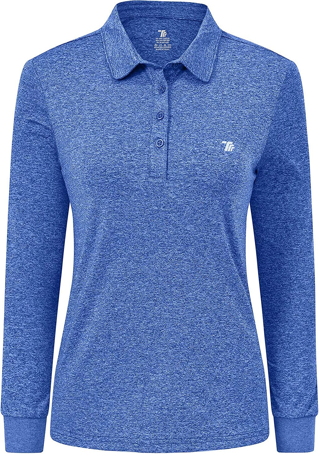 Women's Golf Polo Shirts Long Fit Sleeve trend rank Slim Athletic Manufacturer regenerated product Co