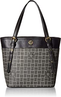 Anne Klein Printed Logo Small Tote