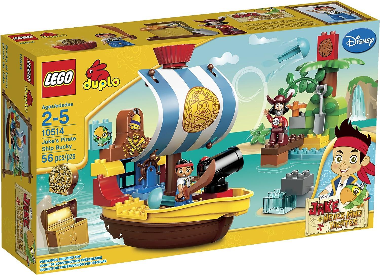 LEGO DUPLO Jakes Pirate Pirate Pirate Ship Bucky 10514