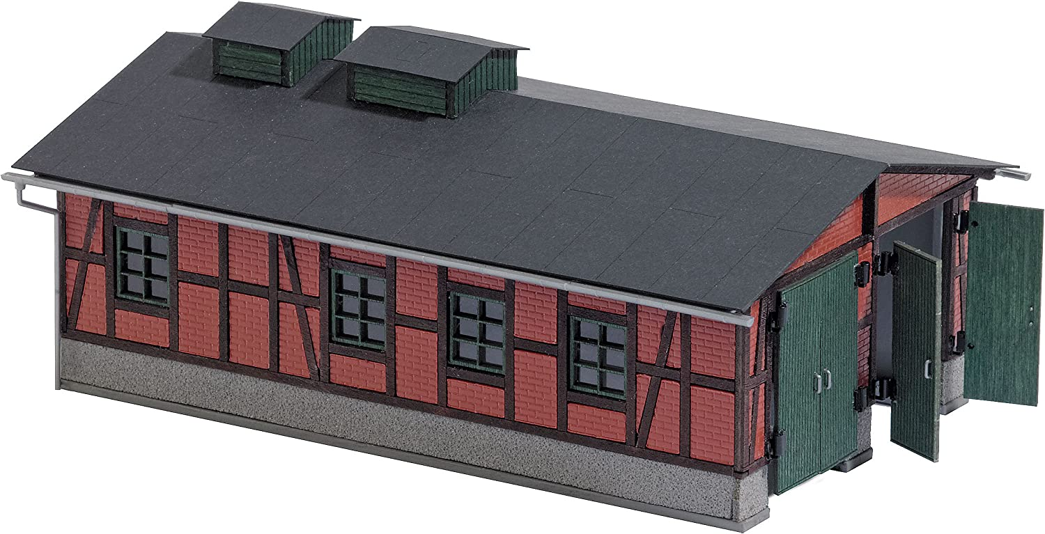 Busch 1475 Locomotive Shed HO Structure Scale Model Structure
