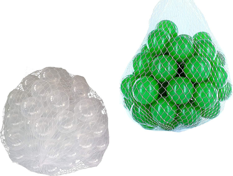 Ptuttioni per borsano di ptuttiine misto Mix con verde e trasparente