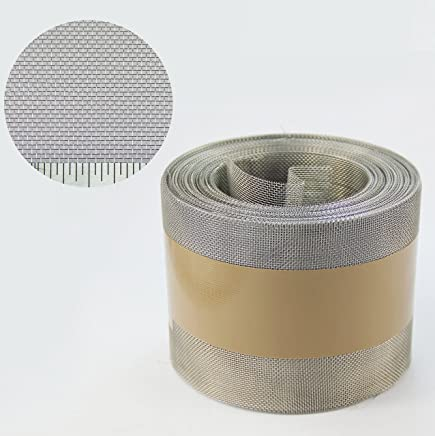 Copper Mesh 1 x 1.2 Metre 60 LPI x 2.63mm Hole x 0.16mm Wire Fine
