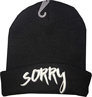 Justin Bieber Official Beanie Knit Hat - Variations Include Sorry or Love Yourself
