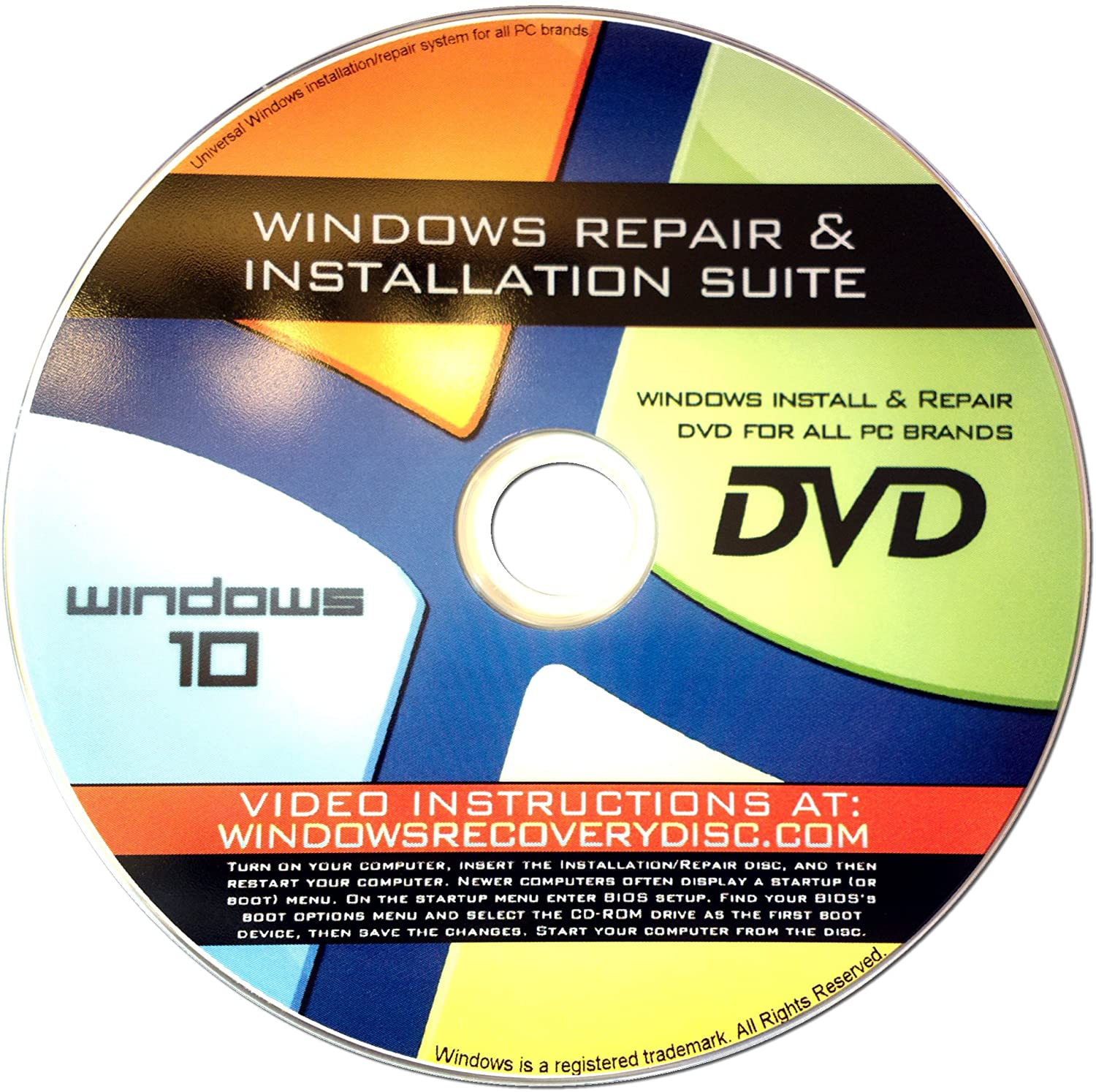 El Paso Mall Recovery Repair Re-install disc compatible with 32 10 Win Limited time trial price MS