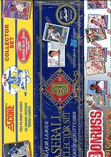 1990 Score 1991 1992 Donruss Baseball Card Complete set FACTORY BOX Collection