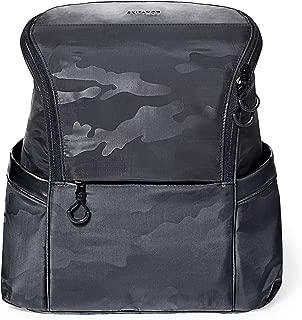 Skip Hop Diaper Bag Backpack, Easy-Access Unisex Bag, Paxwell, Black Camo