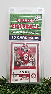 Alabama Crimson Tide- (10) Card Pack College Football Different Bama Superstars Starter Kit! Comes in Souvenir Case! Great Mix of Modern & Vintage Players for the Super Bama fan! By 3bros