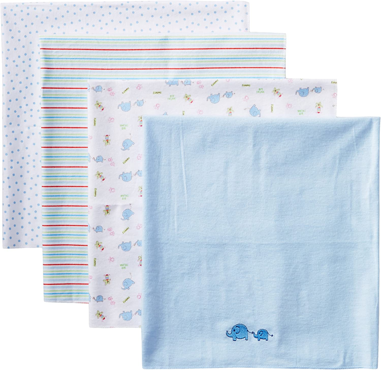 XKAWPC Alien Pattern Baby Soft Blanket Funny Receiving Blanket for Nursery Or Crib 30 X 40 Inch