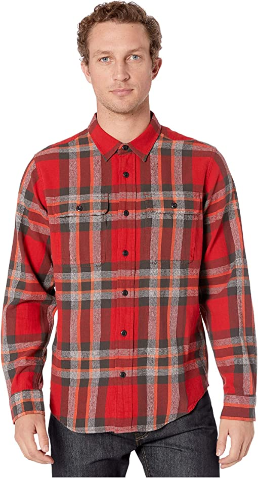 Red/Black/Flame Plaid