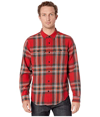 Filson Scout Shirt (Red/Black/Flame Plaid) Men