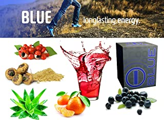 bhip BLUE Energy Blend Drink-Vitamins+Mineral+Health Care+Fitness+Weight Loss
