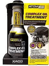 Atomex Complex oil treatment. Anti-smoke oil pressure enhancer with revitalizant (aluminum bottle 250 ml)