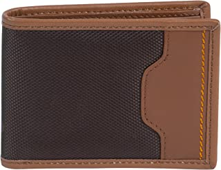 Travelon Safe Id Accent Deluxe Billfold Wallet, Saddle, One Size