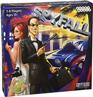 Cryptozoic Entertainment Spyfall Board Games