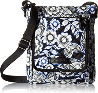 Vera Bradley Women's Signature Cotton RFID Mini Hipster Crossbody Purse