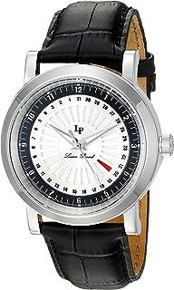 Lucien Piccard Men's LP-40014-02S-BC Ruleta Analog Display Quartz Black Watch