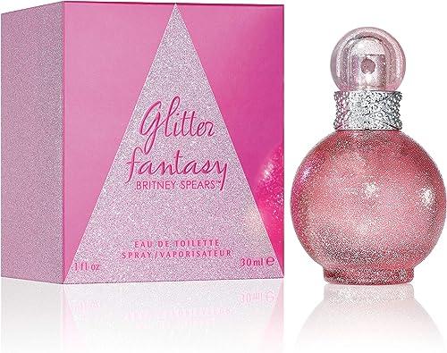 Britney Spears - Glitter Fantasy Eau de Parfum Femme Vaporisateur - Senteur Florale & Boisée - 30 ml