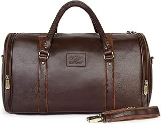 30 ltrs Vegan Leather Travel Duffel Bag, Weekender Bag