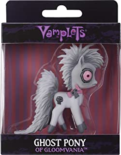 Vamplets Ghost Pony Minifigure from Ride This Little Pony Across Magical Worlds – Soft & Flexible Plastic Mini Figure Toy – 3