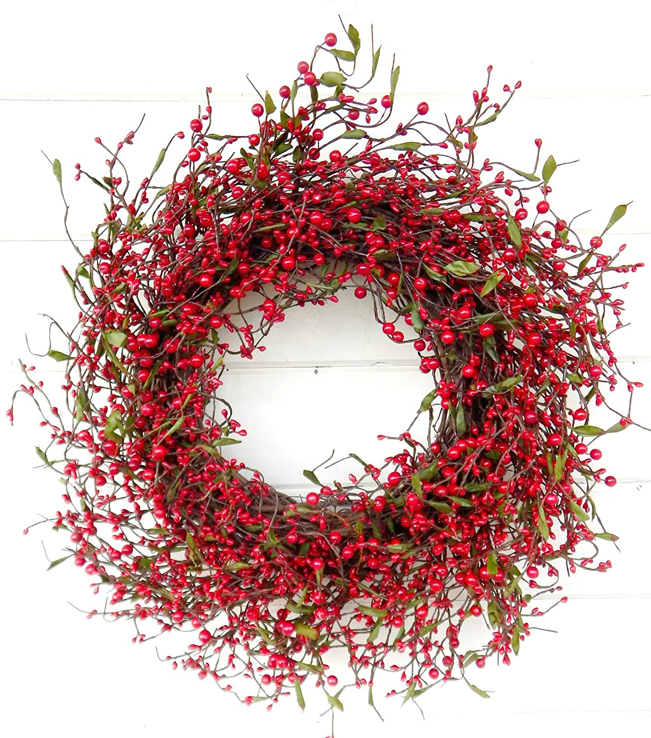 Farmhouse Wreath Decor Ranking TOP4 Online limited product Winter Summer