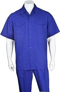 Fortino Landi Two Pockets Walking Suit 2961-RoyalBlue-X-Large-40