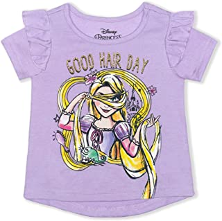 Clode for 1-7 Years Old Girls Lovely Toddler Infant Baby Girl Flare Sleeve Strapless Off Shoulder Lemon Print T-Shirt Blouse Tops Clothes