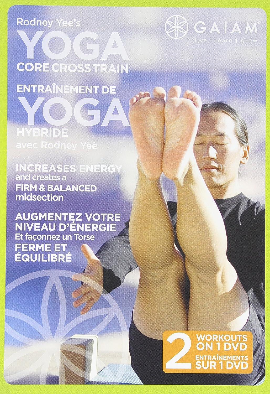 Limited price Rodney Yee's: Yoga Max 59% OFF Train Core Cross