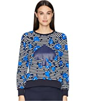 Kate Spade New York Athleisure - Hibiscus Stripe Pullover
