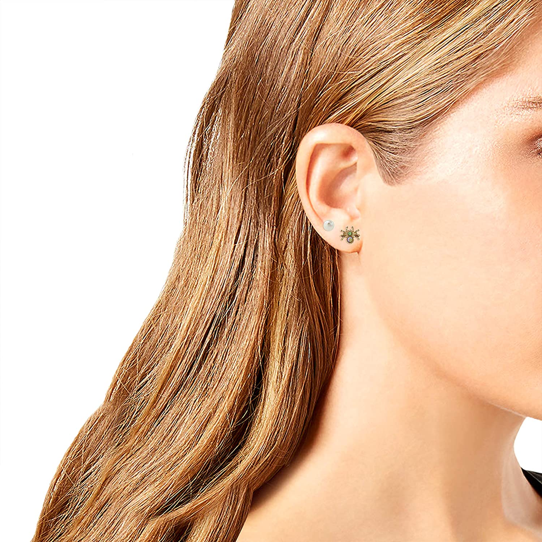 Betsey Johnson Spider Stud Set Earrings