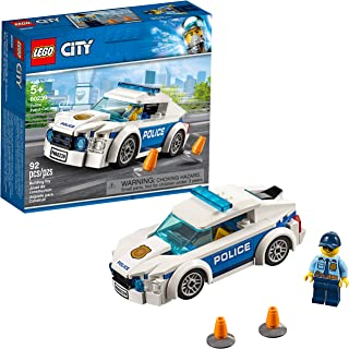 LEGO City Police Patrol Car 60239 Building Kit, 2019 (92...