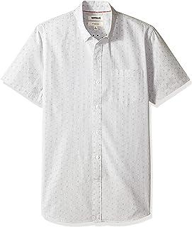 comprar comparacion Marca Amazon - Goodthreads – Camisa dobby de manga corta de corte entallado para hombre