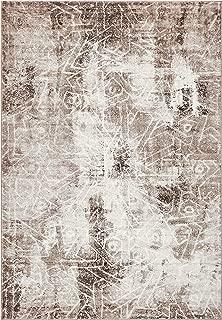 Unique Loom 3137787 Sofia Collection Traditional Vintage Beige Area Rug, 4' 0 x 6' 0 Rectangle, Dark