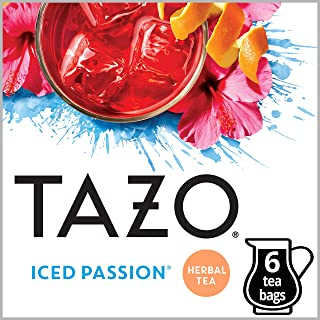 Tazo Iced Passion Tea Filter Tea Bag 24 count (Packaging may vary)