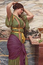 Counted Cross Stitch Patterns: Pre-Raphaelite Artists, A Fair Reflection: John William Godward