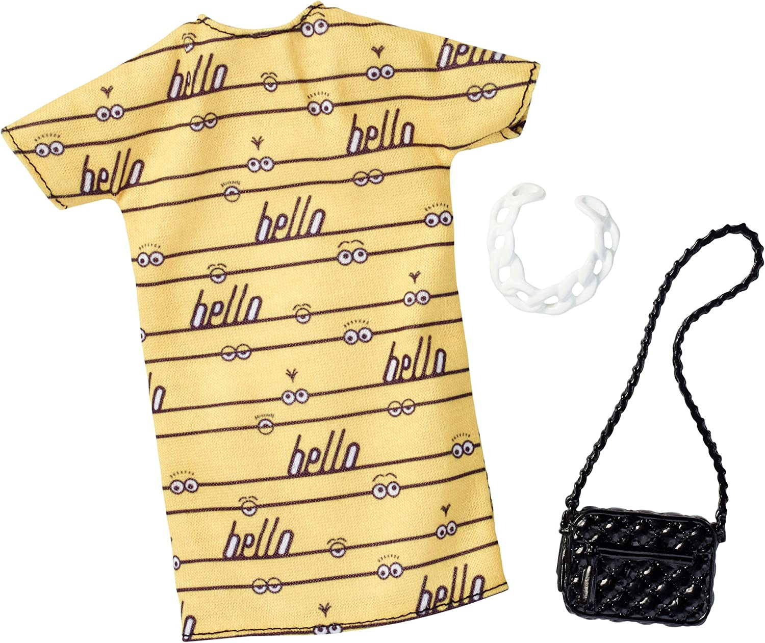 Limited time cheap sale Barbie Omaha Mall Despicable Me Yellow Dress