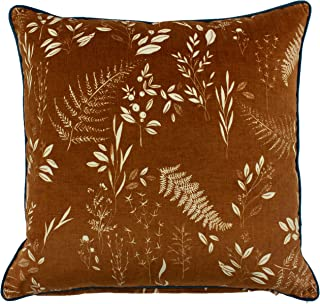 """furn. Fearne Cushion Cover - Polyester - Gingerbread - 50cm x 50cm (20"""" x 20"""" inches)"""