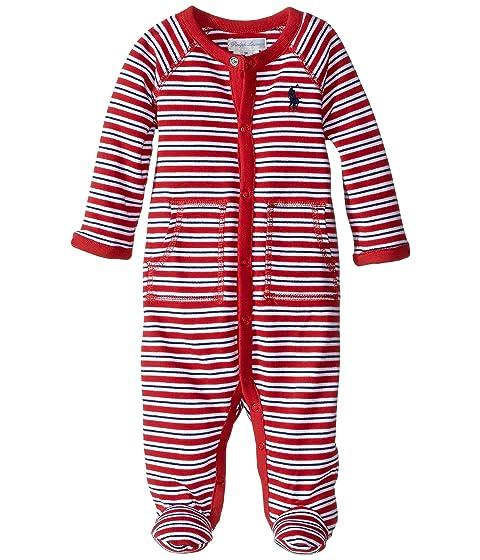 YD Interlock Stripe Coveralls (Infant)