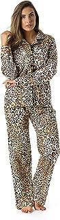 #followme Printed Flannel Button Front PJ Pant Set