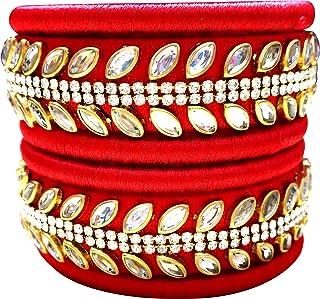 9d35b0a84a89b Amazon.in: Kundan - Bangles & Bracelets / Women: Jewellery